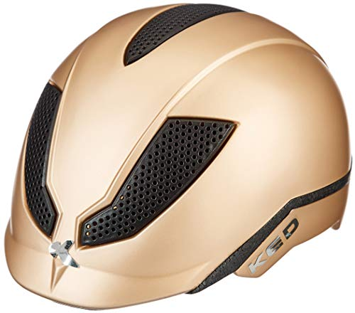 KED Pina Helm Kinder Gold Matte Kopfumfang M | 51-56cm 2021 Fahrradhelm