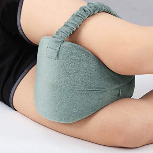 BigBig Style Memory Foam Beenkussen Knie Kussen voor Relief Rugpijn Beenpijn Zwangerschap Heup en Gewrichtspijn (Kleur: Blauw)