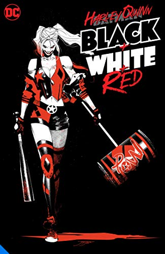 Harley Quinn Black & White & Red