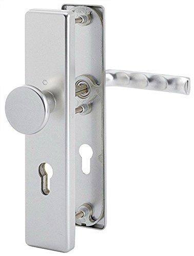 Hoppe Birmingham Aluminium F1 Schutzbeschlag Wechselgarnitur 54/2221A/2440/1117 ES0 (SK1)