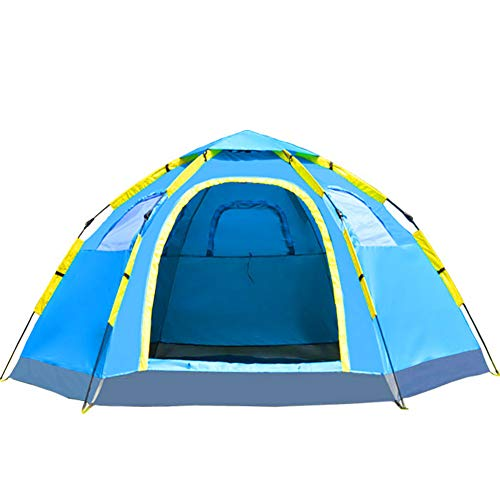 SHU Hexagone Tourisme Camping en Plein Air Grand Ouvert Tente/Vitesse Automatique
