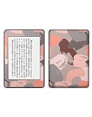 igsticker kindle paperwhite 第4世代 専用スキンシール キンドル ペーパーホワイト タブレット 電子書籍 裏表2枚セット カバー 保護 フィルム ステッカー 050513
