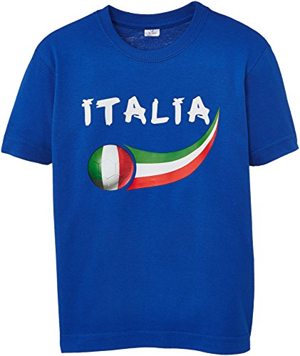 Fussball Fan T-shirt Kinder Italien