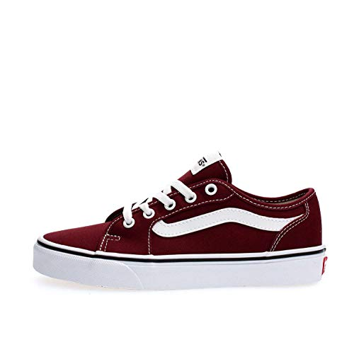 Vans Damen Filmore Decon Sneaker, Rot ((Canvas) Port Royale/True White Mc0), 36.5 EU