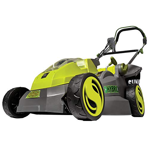 iON16LM-HYB 40V 4.0 Ah Hybrid Cordless or Electric Lawn Mower, 16'