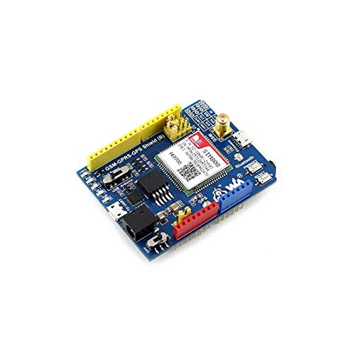 Atmega16U2 Board Module with USB LLD GSM/GPRS/GPS Shield (B) (For Europe) ANGEEK L293D Motor Driver