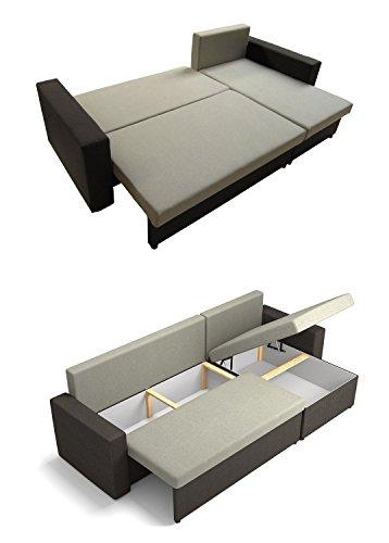 Ecksofa Couch –  günstig Mirjan24 Top  Microfaser 07 Bild 3*