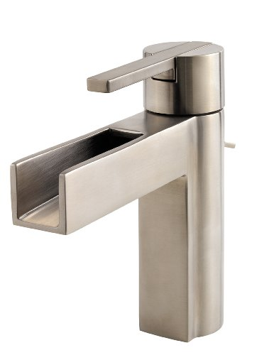 Pfister F042VGKK Vega Single Control 4 Inch Centerset Bathroom Faucet in Brushed Nickel