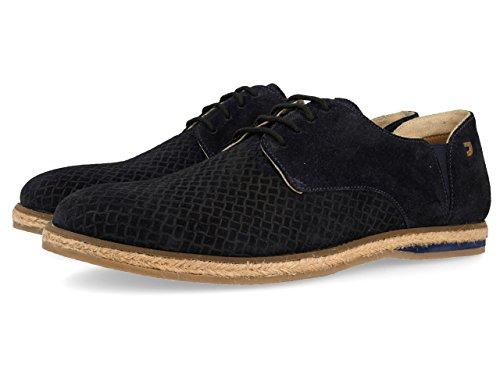 Gioseppo 43598, Zapatos de Cordones Derby Hombre, Azul (Marino), 41 EU