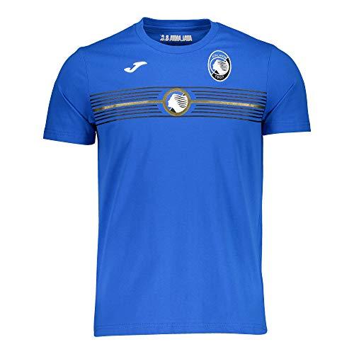 Joma T-Shirt da Rappresentanza Bambino Ragazzo Ufficiale Atalanta 2020/21 Free Time Gomez Muriel DUVAN Zapata (2XS= 12 Anni)