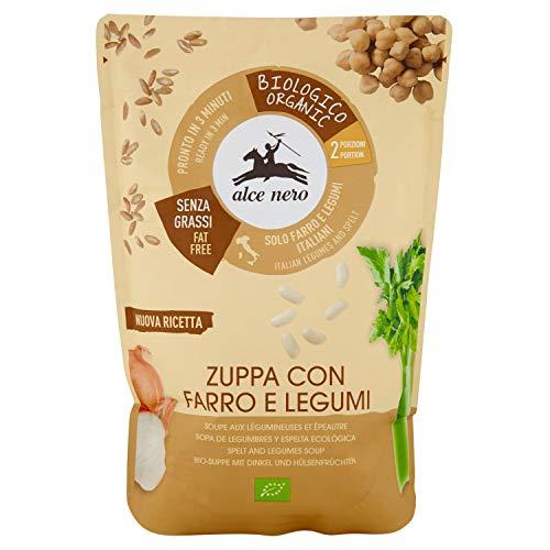Alce Nero Zuppa con Farro e Legumi, 500g