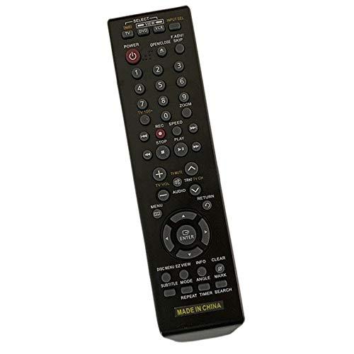 Calvas NEW Remote Control For Samsung DVD-V3650 DVD-V4600 DVD VCR Combo Player Recorder