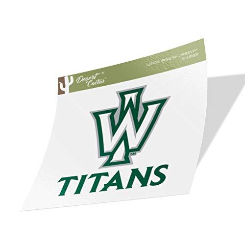 Illinois Wesleyan University IWU Titans Vinyl Decal Laptop Water Bottle Car Scrapbook (Sticker - 00009)
