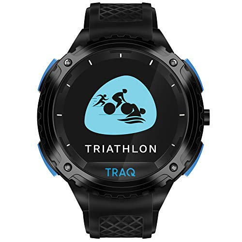 Traq Triathlon Digital Clear Dial Unisex-Adult Watch-75004PP02