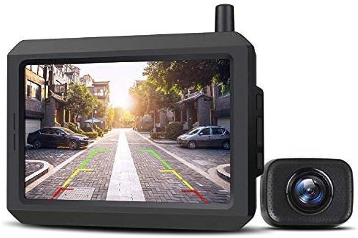 Telecamera retromarcia per auto con monitor lcd da 5 auto-vox w7 B07S8X12PP