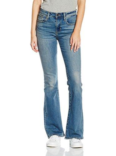 Levi's Jeans High Rise Flare Blu W26L32