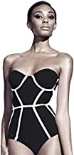 Bikini For Women, Black & White, Medium