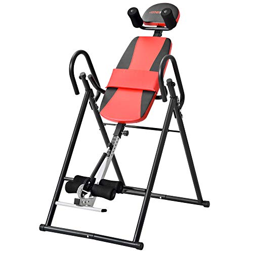 Read About Foldable Headstand Bench Gravity Inversion Table Upside Down Therapy Align Home Neck Back...