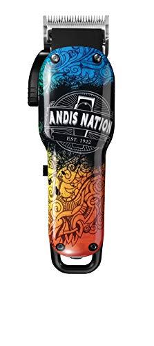 Andis HSM Wireless USPro Fade Li Andis Nation - Cortadora de cuchillas ajustable, 0,47 kg