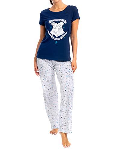 HARRY POTTER Pijamas para Mujer Hogwarts Multicolor Medium