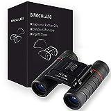 Binoculares para Adultos y niños, DELT 10X22 Mini Juguetes...