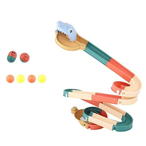 Not application Tobogán para niños, diapositiva plegable, diapositiva de pista de bola montada, tobogán al aire libre plegable para niños