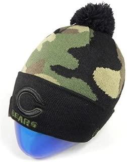 Chicago Bears Camouflage Knit Hat New Era Beanie Men size Headwear NFL