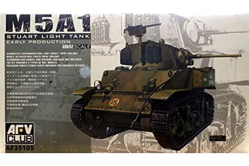 AFV Club 1:35 - M5 light tank early type - AFV35105