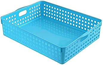 Inomata 4570 Stock A4 Basket, Blue
