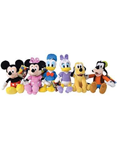 Disney- Peluche, GG01050, 1 pezzo, Colori assortiti