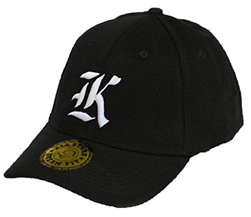 Baseball Snap Back Bonnet Cap Chapeau Casquette Snapback 3D Gothique A-Z Hip-Hop (K)
