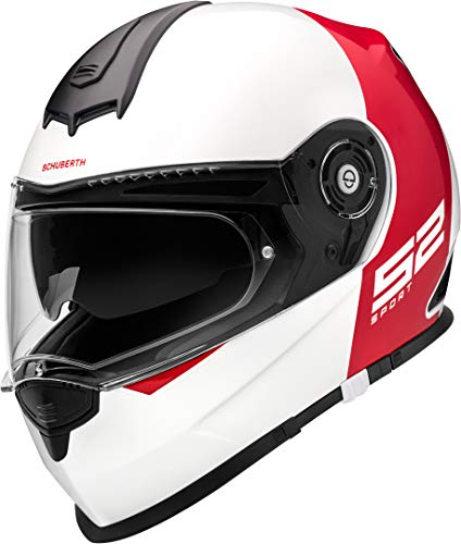 SCHUBERTH S2 Sport Rojoux Rojo Integral Casco De Motocicleta Tamano M