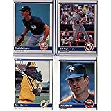 1984 Fleer Baseball Complete Mint Hand Collated 660 Card Set, It Was Never Issued in Factory Form. Includes the Rookie Cards of Don Mattingly, Darry Strawber... rookie card picture