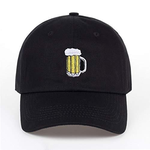 JKYJYJ Casual Hüte Bier Hockey Baumwolle Baseball Cap Mode Männer Und Frauen Erwachsenen Hip Hop