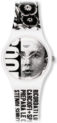 Swatch SUOZ127 - Reloj analógico de Cuarzo Unisex con Correa de plástico, Color Multicolor