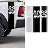 AAlamor 97X 25Cm Auto Stripe Racing Adesivi PVC Decalcomanie per Dodge RAM 1500 2500 3500 ...