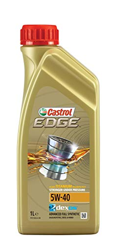 Castrol EDGE 5W-40 Aceite de motor, 1L