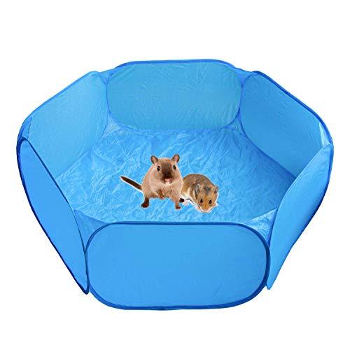 Laufstall für Meerschweinchen, für drinnen, Hamster, Kleintiere, Pop-Up-Laufstall, Laufstall, Heimtrainer, Zaun