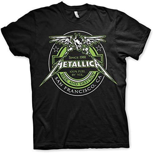 Metallica Since 1981 Seek ad Destroy T-shirt, S to XXL