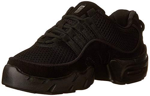 Bloch Boost MESH Sneaker Dance Shoe, Black, 8 X(Medium) US