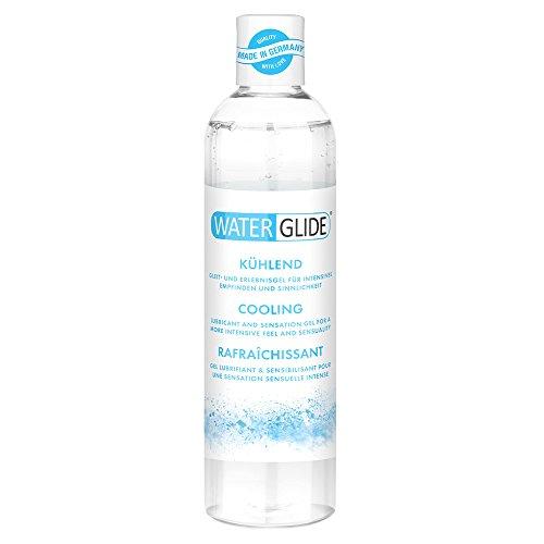 Lubricante refrescante Waterglide, muy deslizante, efecto frío, 300ml