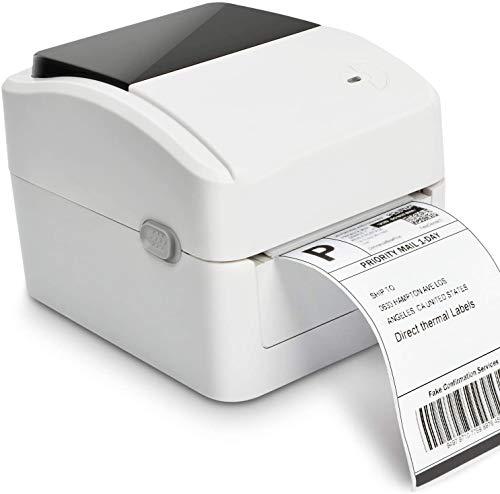 Imprimante D'étiquettes - Imprimante Thermique Directe, Commercial Haute Vitesse Étiquette Writer, Compatible Avec UPS, Fedex, Amazon, Ebay, Etsy, Shopify, Etc.