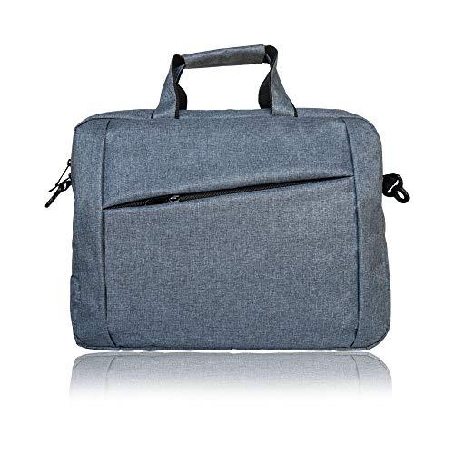 MBW Office Laptop Bag Briefcase Notebook Business 17 Inch Briefcase Messenger Sling College Bag Water Resistant Laptop Bag Tablet Business Carrying Handbag for Women and Men (Dark Grey)