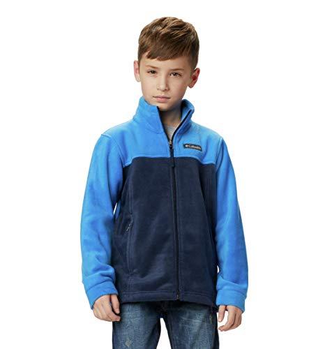 Columbia Boys Steens Mt II Fleece Jacket, collegiate navy/super blue, X-Large