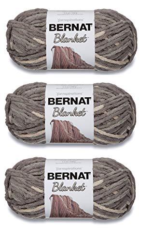Bernat 161200-1 Blanket Yarn - Silver Steel