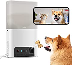 Petcube [New 2021] Bites 2 Lite Interactive WiFi Pet Monitoring Camera with Phone App and Treat Dispenser, 1080p HD Video, Night Vision, Two-Way Audio, Sound and Motion Alerts, Cat and Dog Monitor