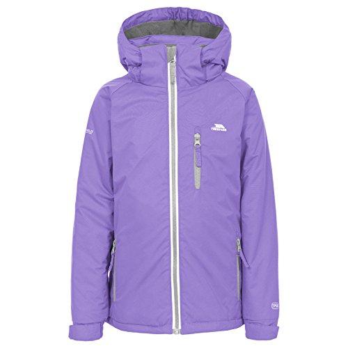 Trespass Cornell II warme gewatteerde waterdichte regenjas / functionele jas / weerbestendige jas met afneembare capuchon voor kinderen / unisex / meisjes en jongens