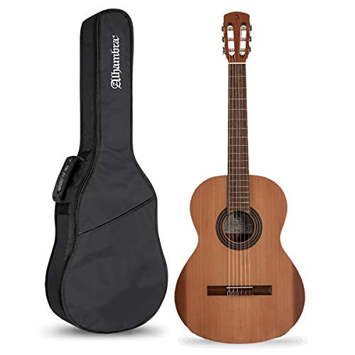 Alhambra Laqant College - Pack Guitarra Clásica Española + Funda