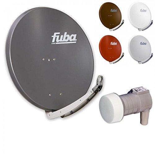 Fuba Digital Sat-Anlage 1 Teilnehmer   Fuba DAA 850 Premium Aluminium Sat-Antenne in Wunschfarbe + DEK 106 LNB