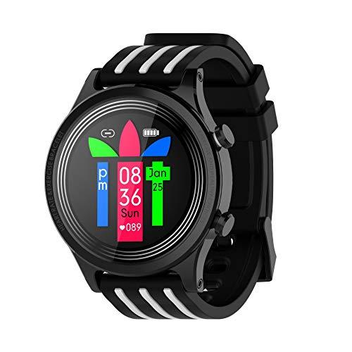 GUOJIAYI Smart Watch Full Circle Full Touch Zinklegierung Wecker zur Erinnerung an das Wetter der Stoppuhr